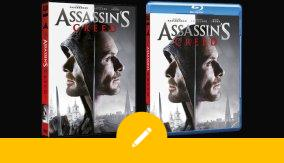 ASSASSIN'S CREED in DVD e BLU-RAY