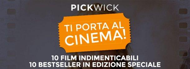 Ma è meglio il film del libro? Pickwick ripropone, in un'elegante edizione cartonata, 10 romanzi che hanno ispirato film indimenticabili. Scoprite quali!