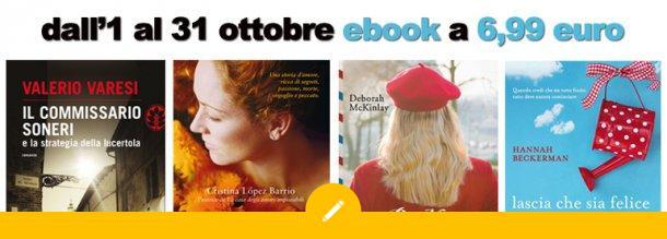 Ottobre: ebook a 6,99 euro