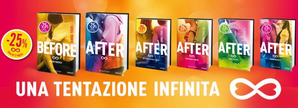 After e before: tentazione infinita! Fino al 2 luglio -25%