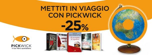 Pickwick è il tuo libro quotidiano. Dal 4 luglio al 2 agosto sarà anche il migliore compagno di viaggio che tu abbia mai avuto!