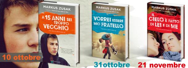 Torna in libreria Markus Zusak, autore amatissimo in tutto il mondo.