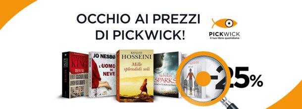 Dal 16 gennaio al 14 febbraio impossibile non cedere alla tentazione: tutti i libri Pickwick a -25%
