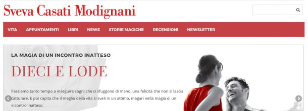 Carissime amiche e lettrici, è online il nuovo sito di Sveva Casati Modignani!